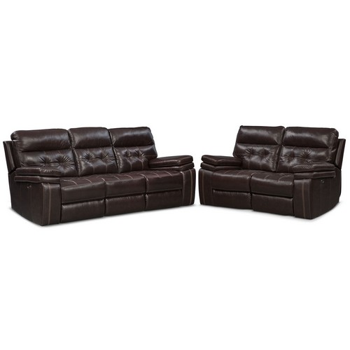 Brisco Brown 2 Pc. Power Reclining Living Room