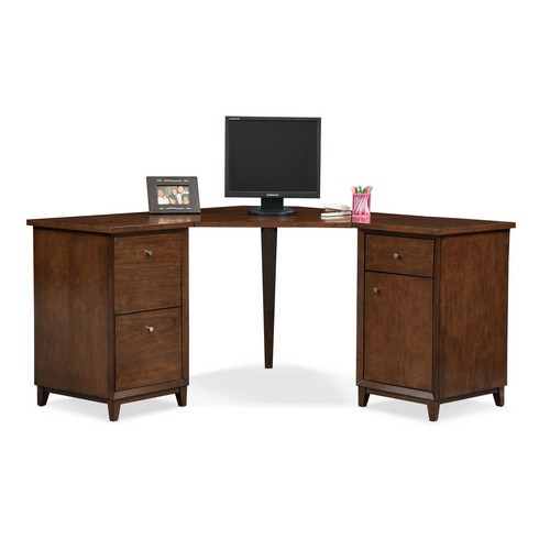 Oslo Cherry Corner Desk